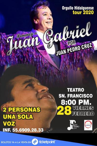 Homenaje a Juan Gabriel por Juan Pedro Cruz