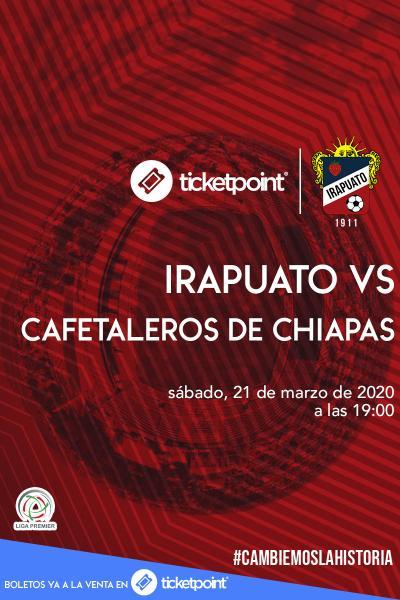 Irapuato Vs Cafetaleros de Chiapas J23