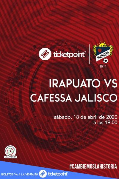Irapuato Vs Cafessa Jalisco J26